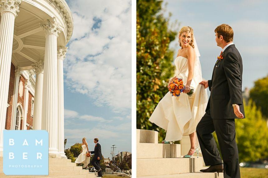 John + Cameron | married Hunter Art Museum  Chattanooga Wedding