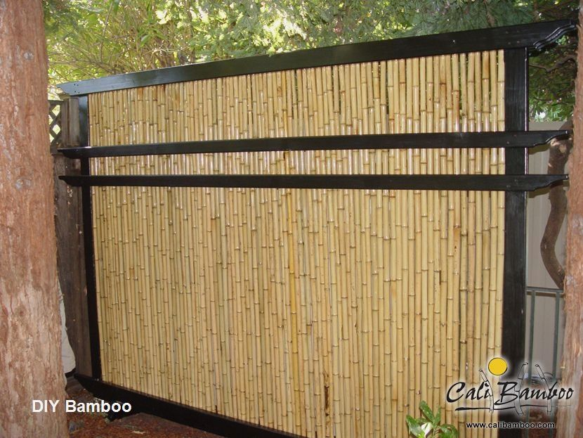 Wonderfull Diy Bamboo Projects Bamboodecoration In 2020 Bamboo Decor Bamboo Fence Bamboo