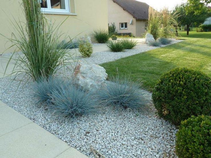 Idee Amenagement Jardin Rectangulaire | Jardin Rectangulaire ...
