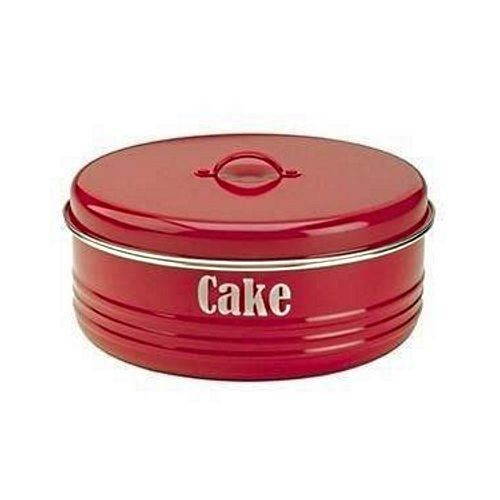 Typhoon Vintage Kitchen Large Cake Tin Storage Container Red Pack Of 2 See This Great Product Cake Pans Cake Carrier Cake