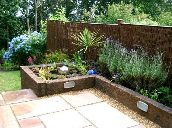 Garden Design Using Sleepers exellent garden design with railway sleepers on pinterest