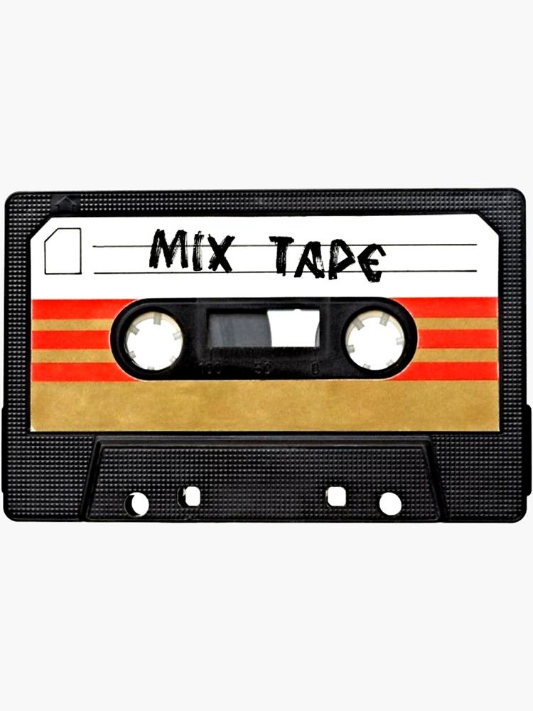 Cassette Tape Sticker By Surreal77 Redbubble Cassette Tapes Cassette Tape