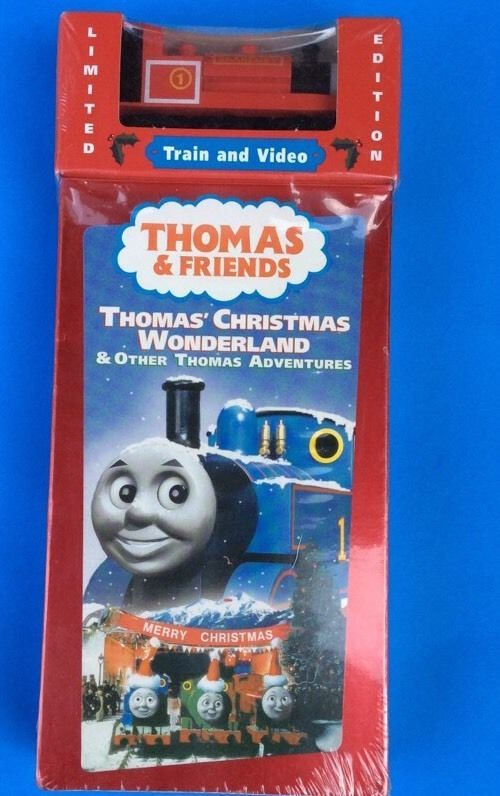 Thomas Christmas Wonderland Vhs.Pin On Toys