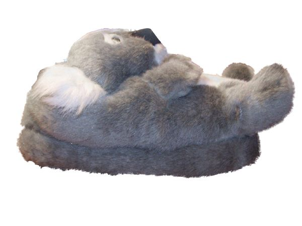 Pleasing Koala Animal Slippers Slippers Bean Bag Chair Fuzzy Gmtry Best Dining Table And Chair Ideas Images Gmtryco