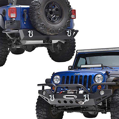 Front Fascia on OE Bumper Grommet or Plastic Fastener fits Jeep Wrangler JK