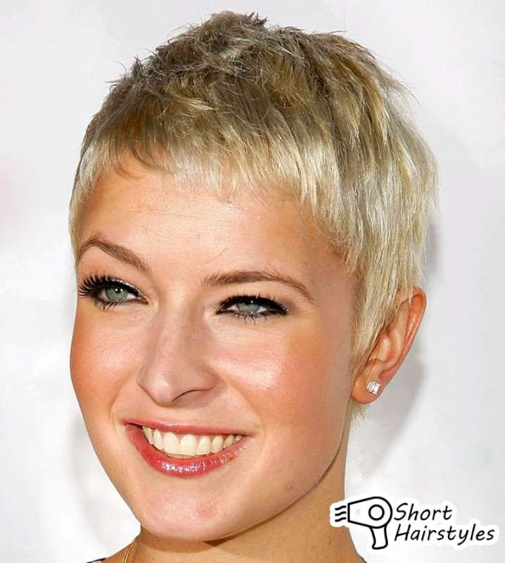Really Short Hairstyles After Chemo 2014 Very Short Haircuts Long Face Hairstyles Very Short Hair