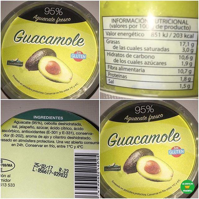 Guacamole Supermercado Mercadona P V P 1 50 Euros