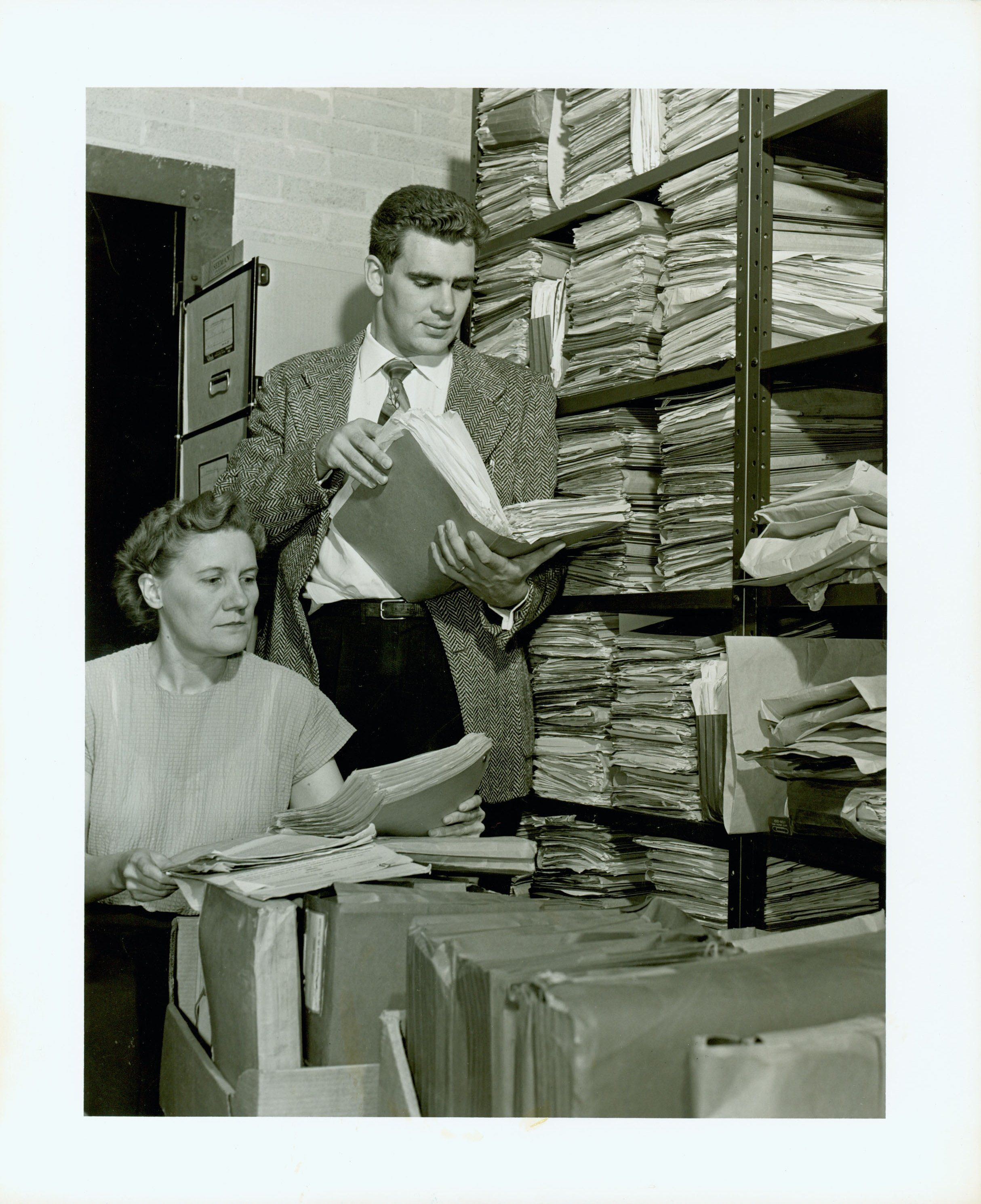 The Archivist's Life, 23 May 1954 | Librarians of Yore