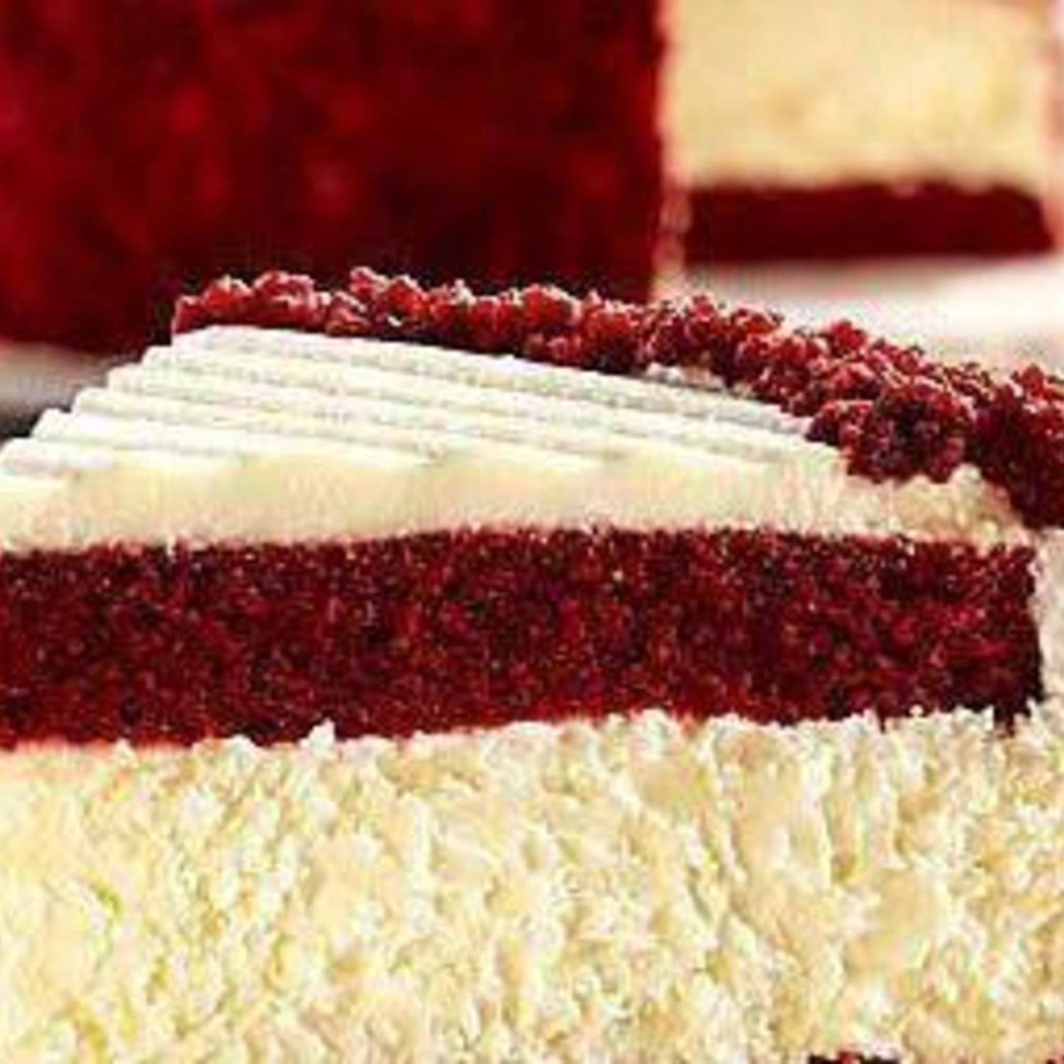 Red Velvet Cheesecake #redvelvetcheesecake