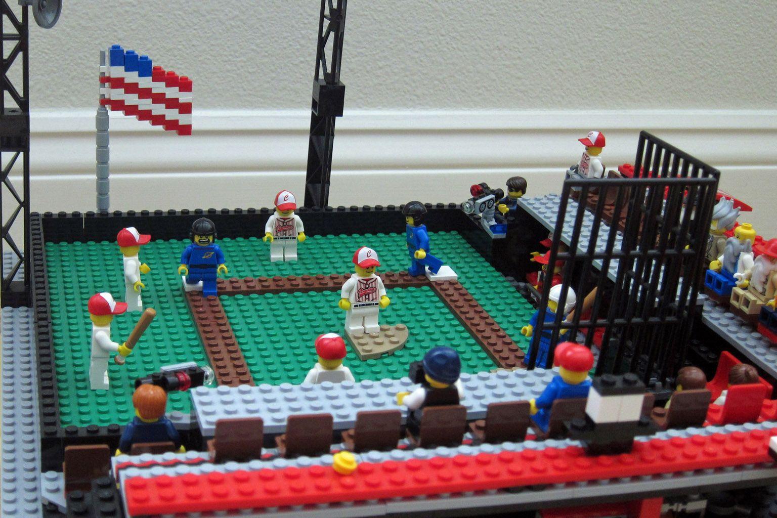 Baseball Stadium Baseball Stadium Lego Baseball Baseball Project