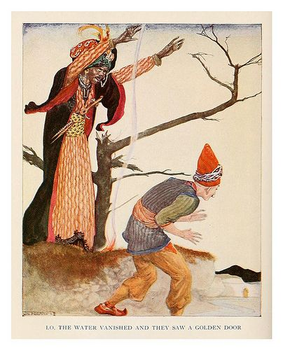 """Willy Pogany, """"More Tales From The Arabian Nights"""" - 1915"""