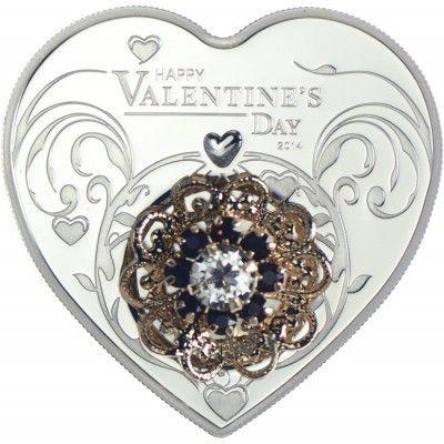 5 Dollar Silber Valentinstag 2014 PP