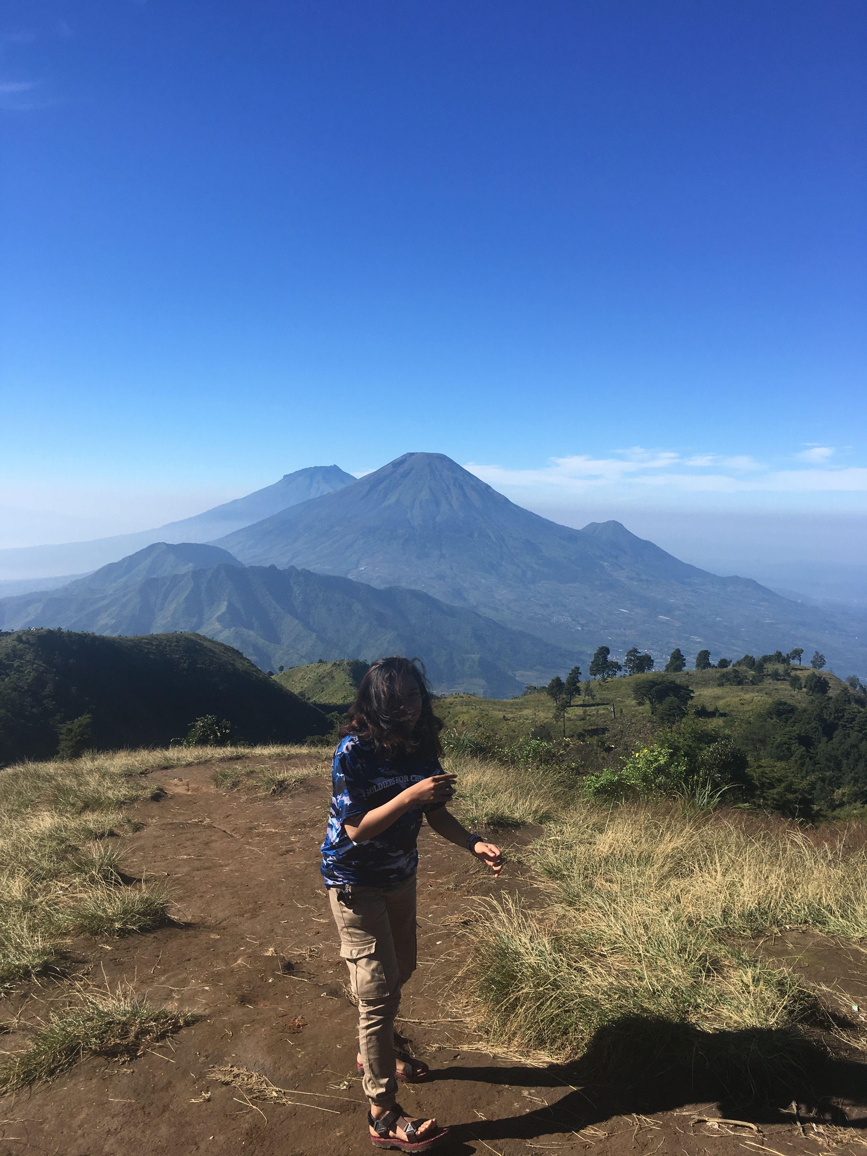 Gunung Prau Wonosobo Jawa Tengah Perjalanan Pemandangan Fotografi