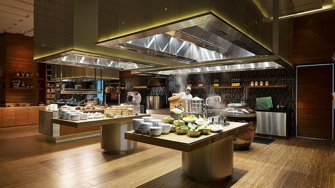 Doubletree by hilton hotel johor bahru interior design for Hotel kitchen design