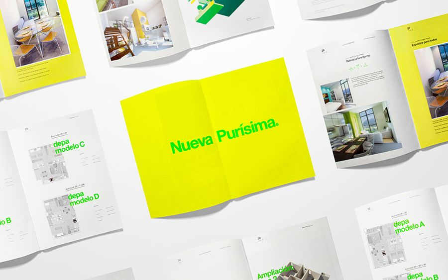 New Brand Identity for El Semillero by Anagrama u2014 BP\O Property - property brochure