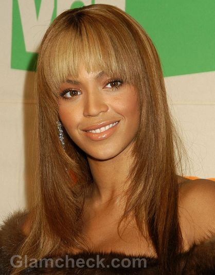 Beyonce Straight Hairstyles Hair Styles Hairstyles With Bangs Straight Bangs Hairstyles