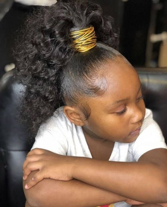30 Easy Cute Hairstyles for School for Black Girls   Cute ...