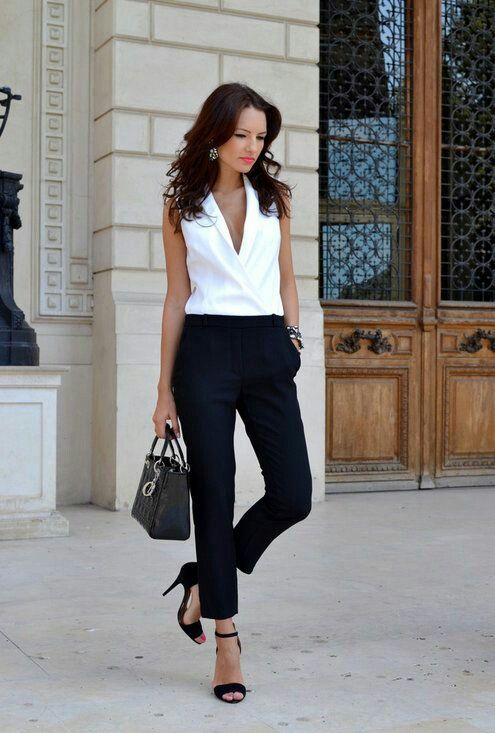 White blouse to go under many blazers