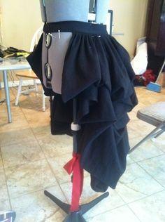 diy steampunk bustle skirt steam punk diy steampunk mode und steampunk cosplay
