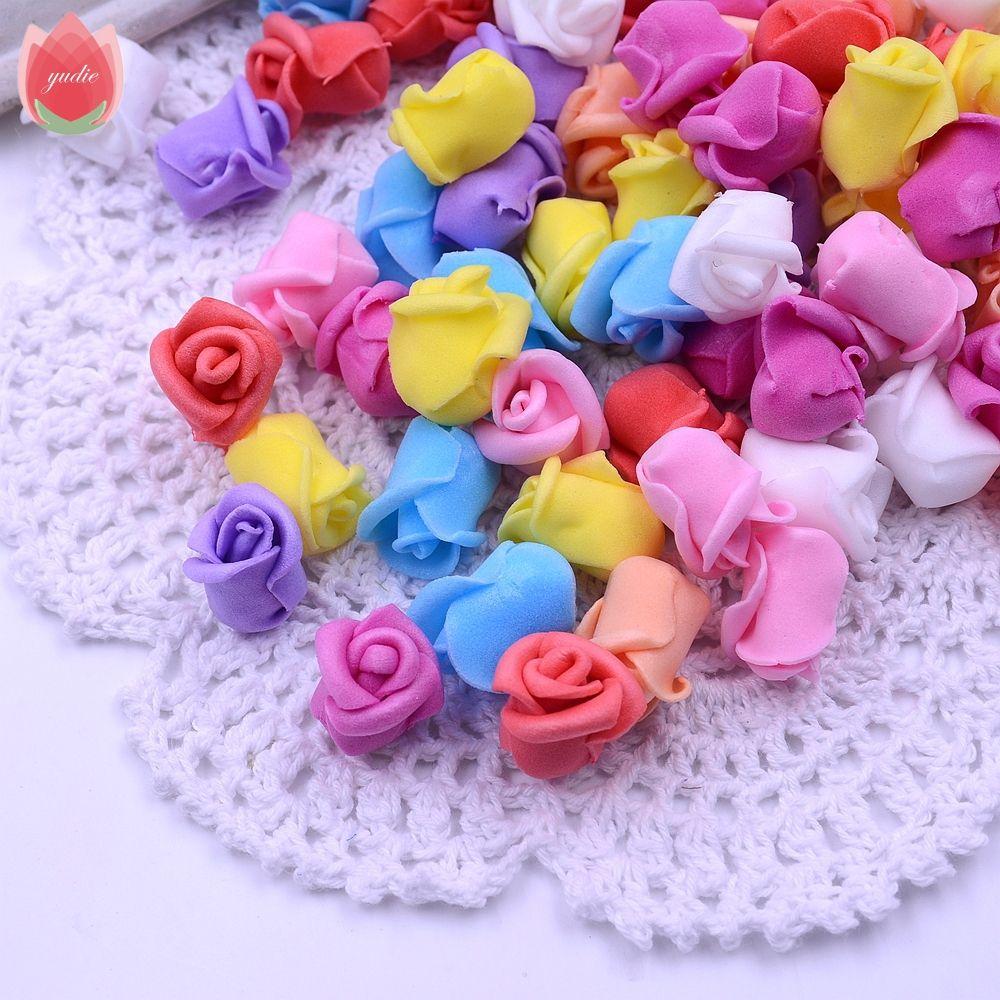 Wholesale 200pcs Foam Artificial Rose Stamen Bud Flower For Wedding