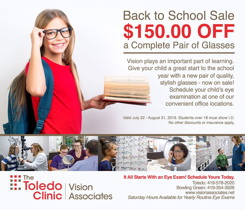Back To School Sale 150 Off On A Complete Pair Of Glasses Back To School Sales Back To School Stylish Glasses