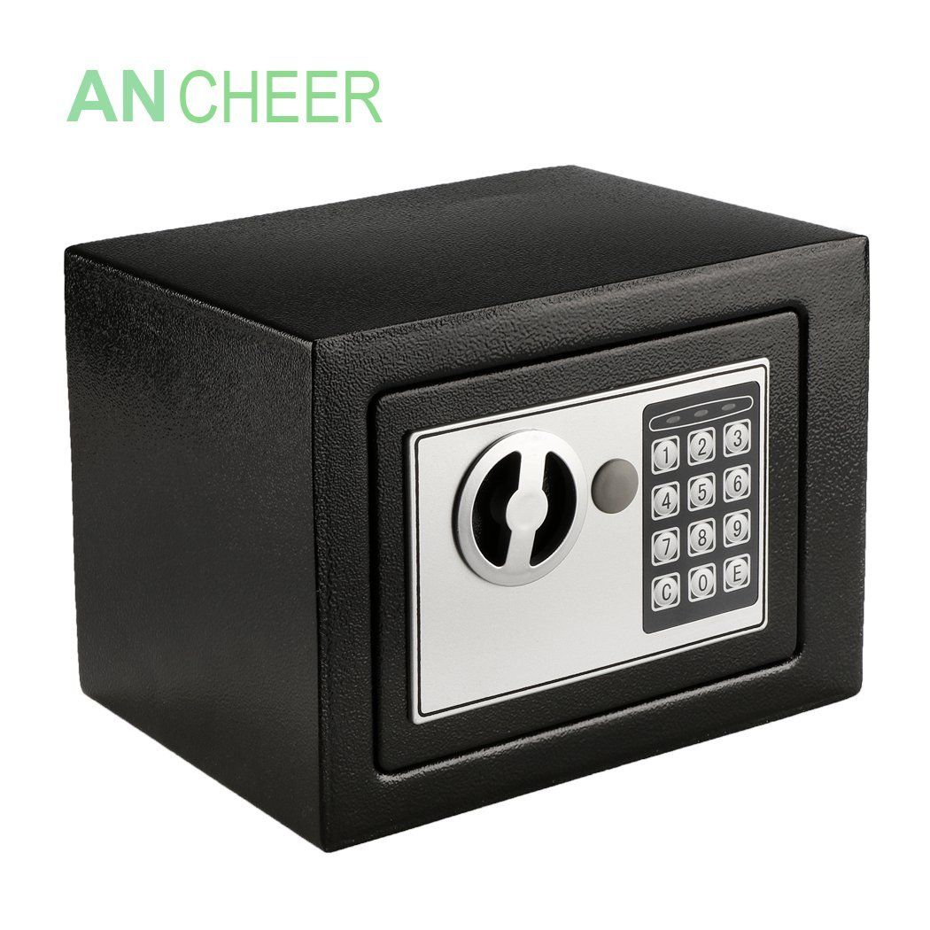 Only 23.99 with code E6YHM5BQ Security safe box
