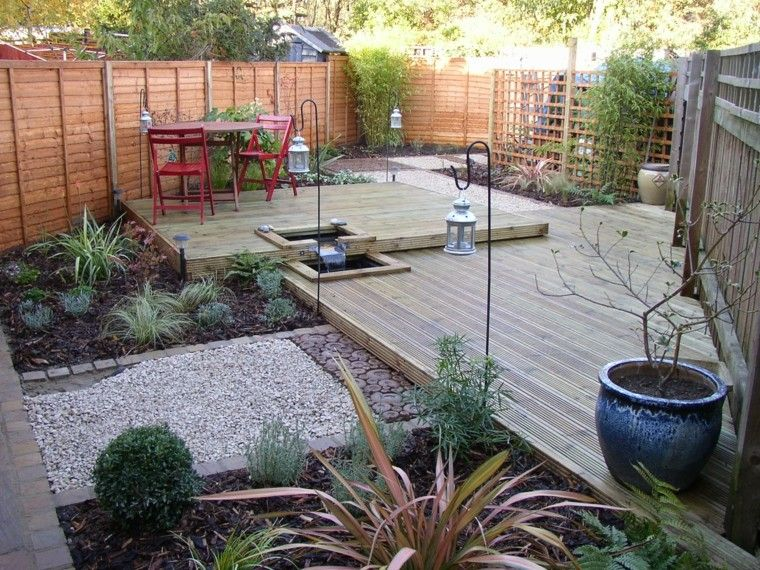 Dise o de jardines peque os y modernos 50 ideas patios for Patios decorados