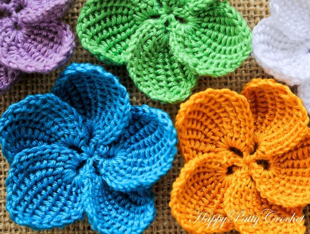 4) Name: \'Crocheting : Plumeria Flower | CROCHET & LACES ...