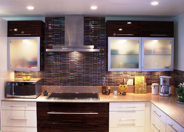 Colorful Kitchen Backsplash Tiles Design Ideas for the House