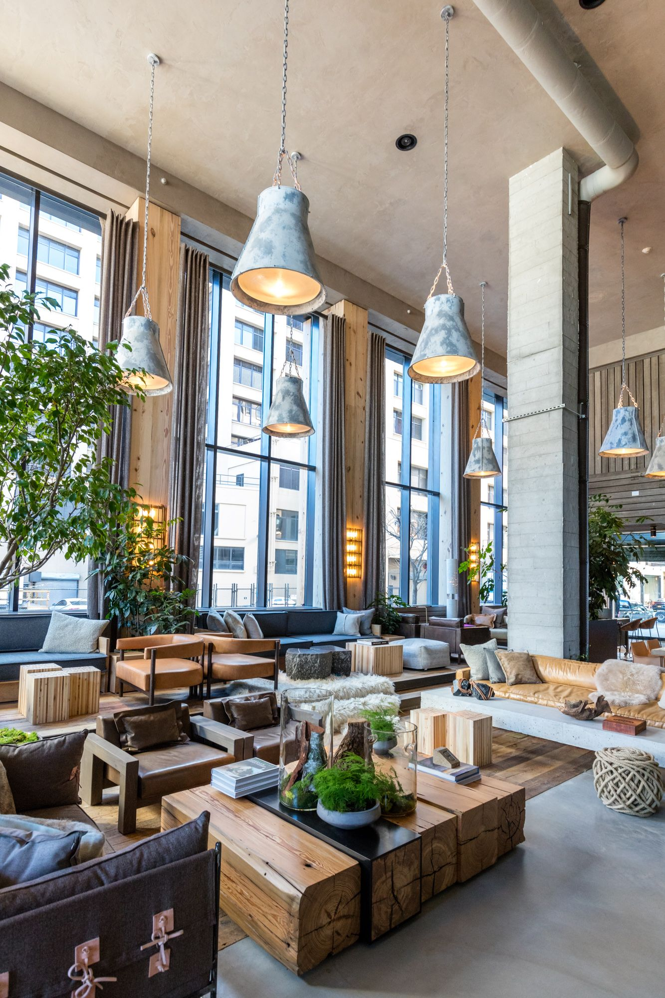Luxury Interior Design: In Brooklyn Bridge Park, An Eco-friendly Hotel Sprouts On