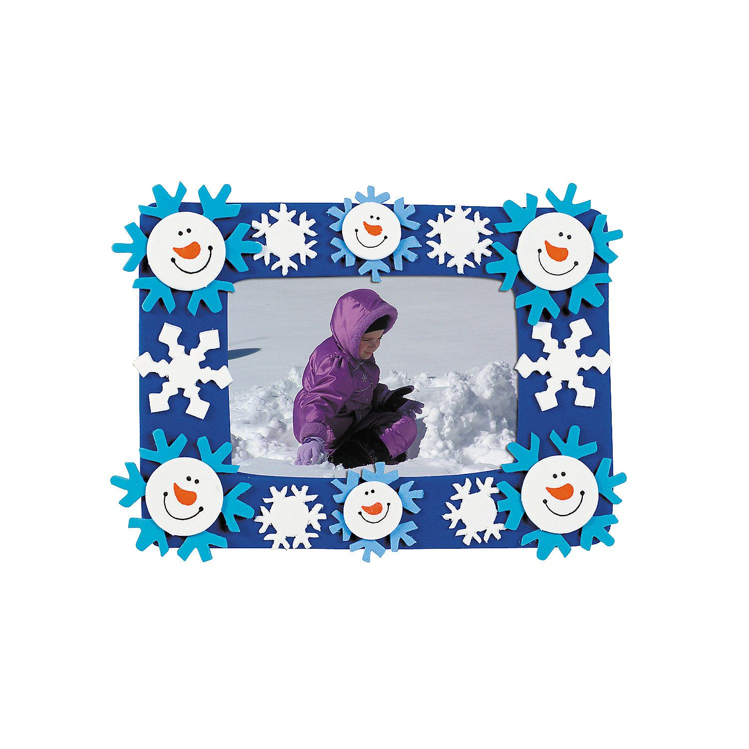 $750 Makes 12 Pre Packaged  Smile Face Snowman Picture Frame