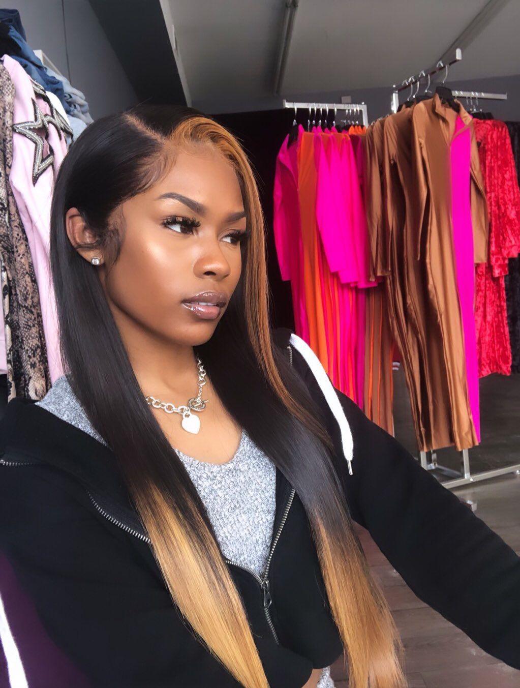ᴘɪɴ ᴏɴʟʏ1ɴᴇᴋᴀɪʟɪ 💚 Wig hairstyles, Front hair styles