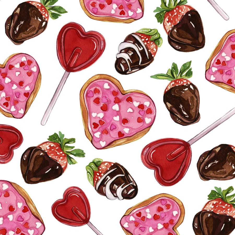 Картинки конфет нарисованные