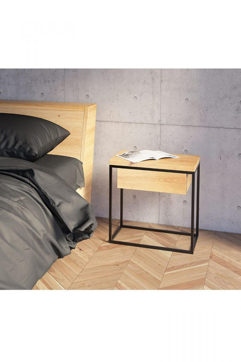 Moonlight Table Minimalist Bedside Table Bedside Table Design
