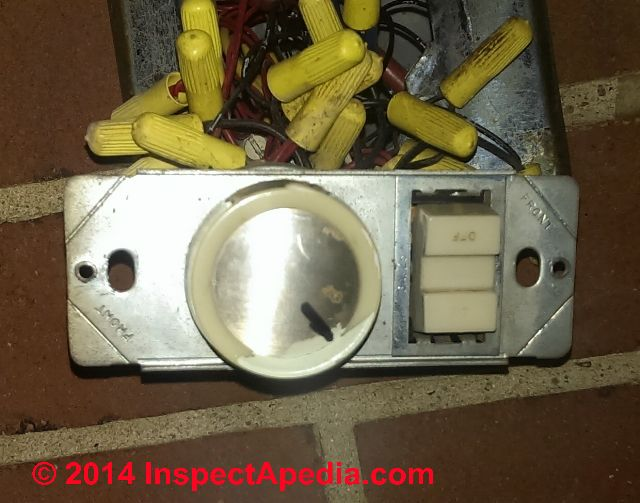 Ge Low Voltage Wiring Switches Relays And Junction Box C Inspectapedia House Wiring Lighting System Relay