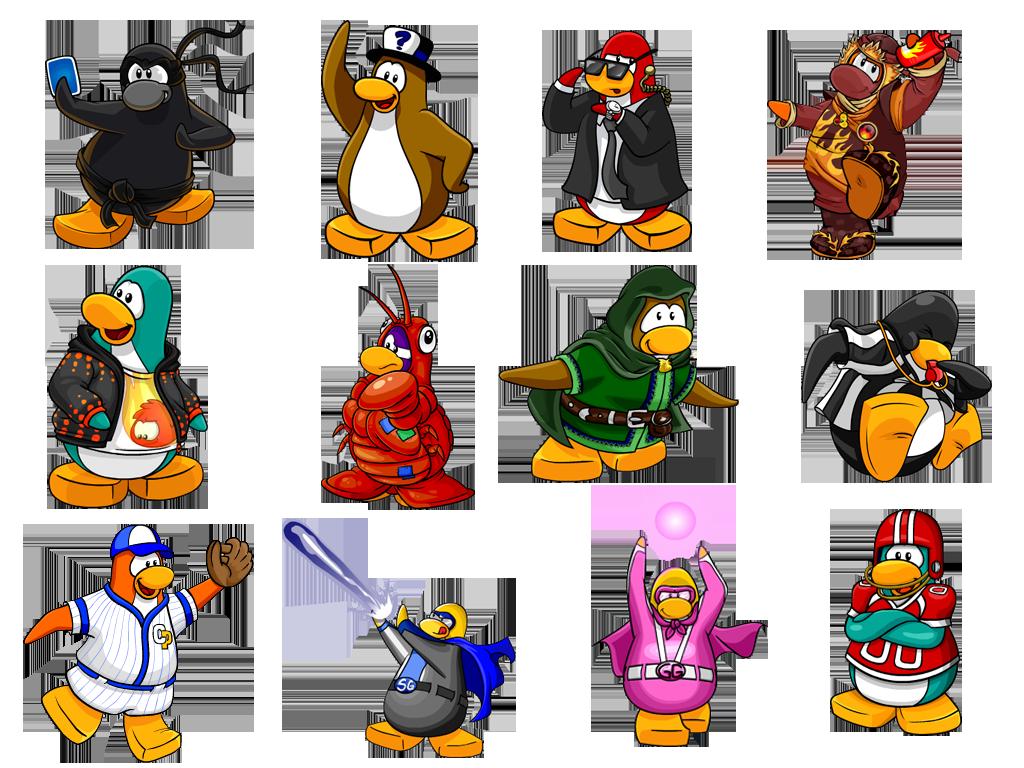 Donaciones Pinguinos Animados Club Penguin Pinguinos