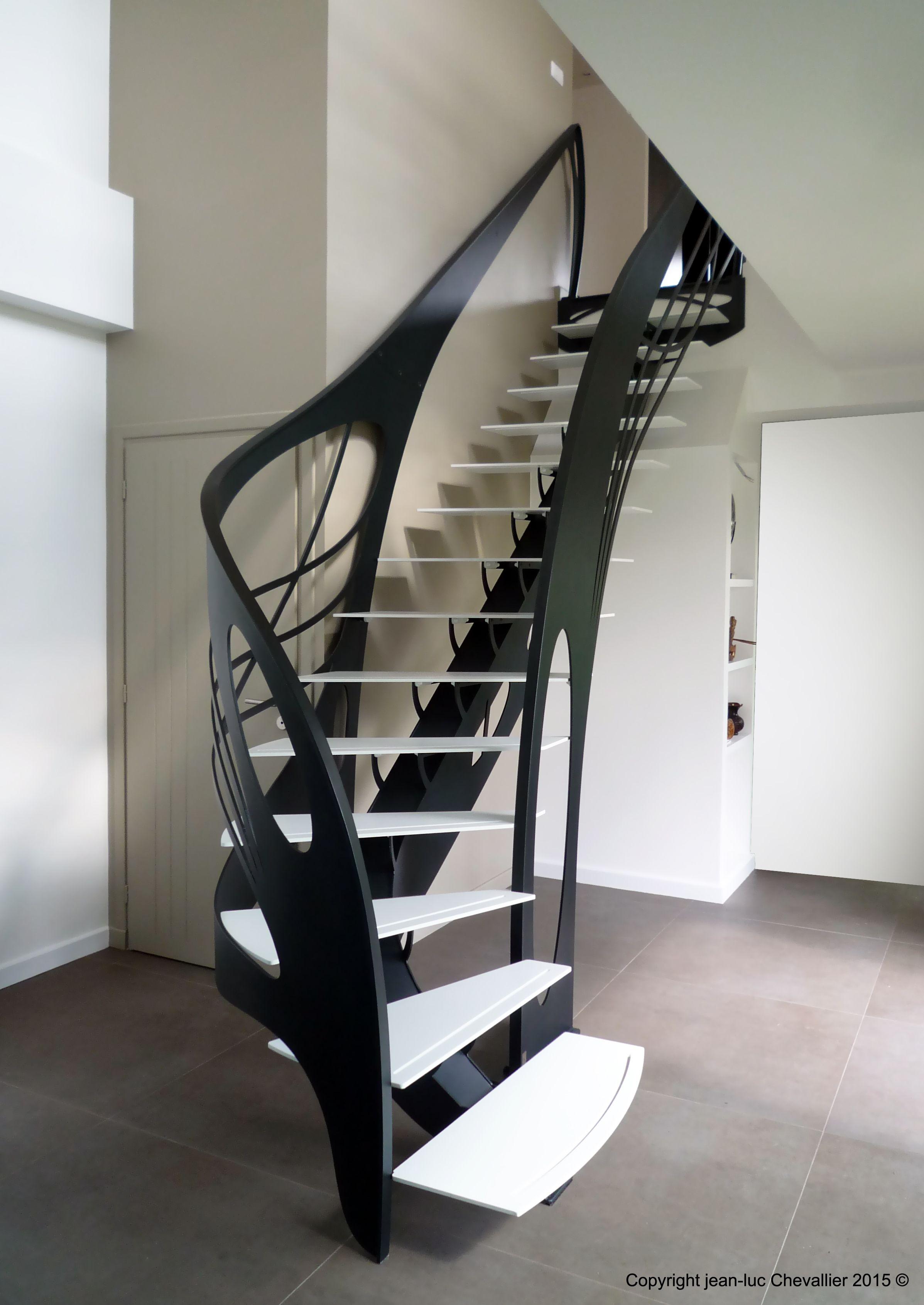 Création d\'escalier design débillardé | Design art nouveau ...
