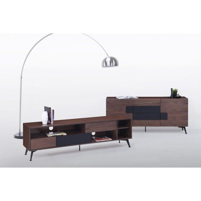 Meuble tv tres bas free meuble tv bas rica with meuble tv tres bas perfect meuble bas tv noir - Meuble tv tres long ...