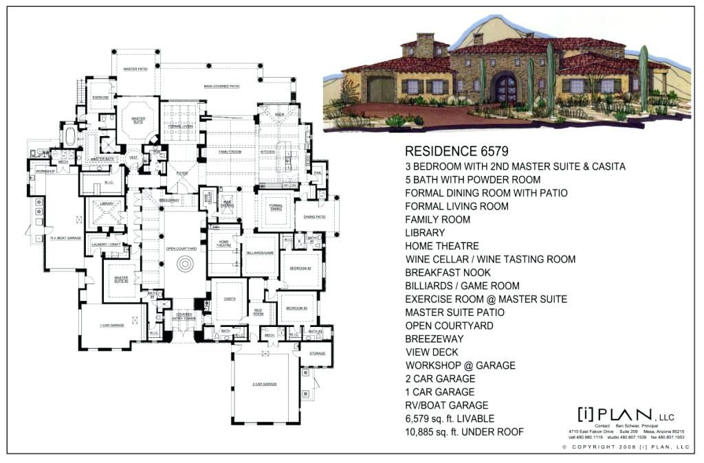 Image Result For 20000 Square Foot House Plans Courtyard House