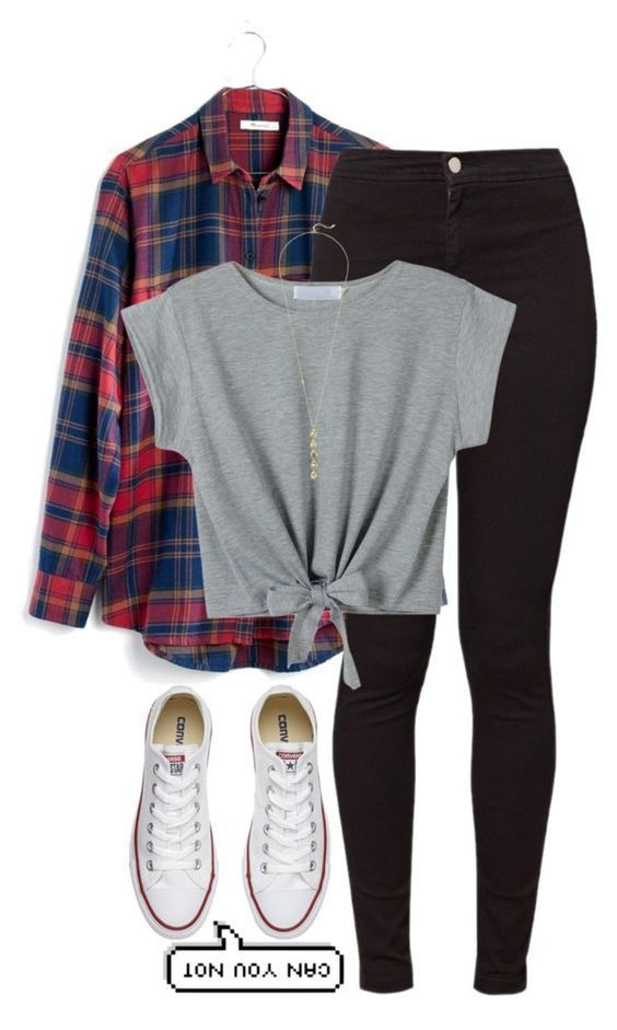 How to Wear Converse to School (35 outfits) #converse