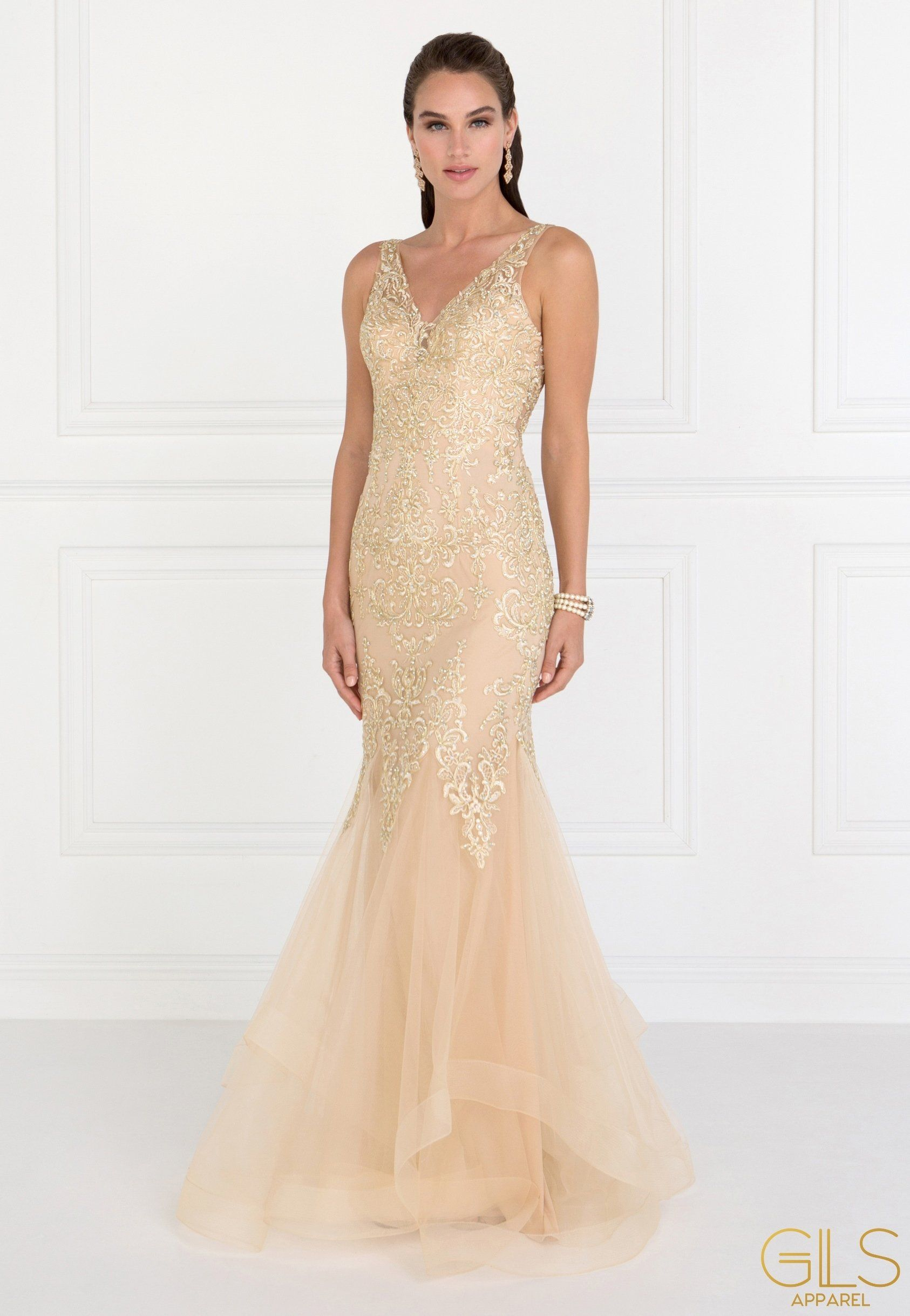 a5be7940e0ba Pink mermaid lace prom dress GLS 1518P | Red Carpet ☆ | Pinterest | Kleider  and Abschluss