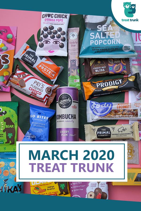 March 2020 Treat Trunk