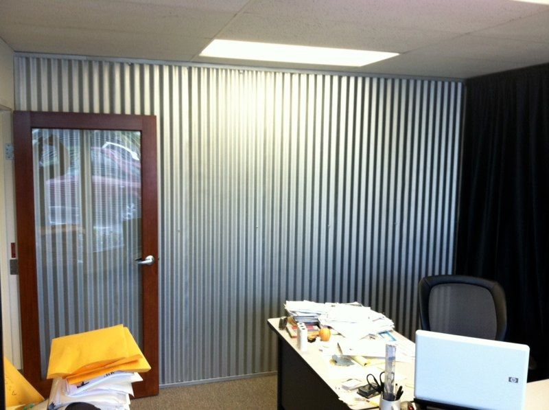 Corrugated Metal Fencing Panels Draft Curtains Dave S