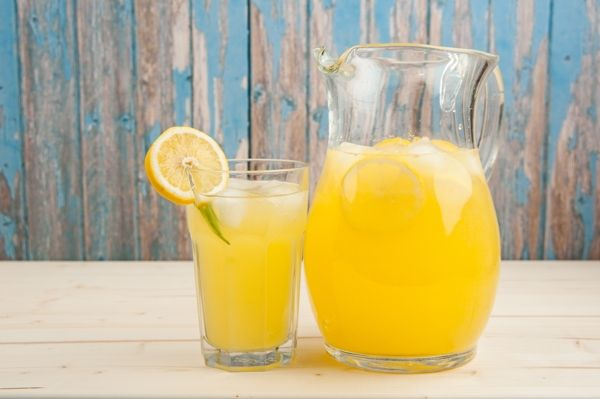Lemon is attributed as a natural diuretic, because it increases the rate of urination, especially when taken with warm or hot water.