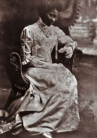 """Educator Charlotte Hawkins Brown on her wedding day, 1912. Founder of the Palmer Memorial Institute in North Carolina, Ms. Brown was also a suffragist who worked for black women to have the same rights black men and white women were fighting for in the early 20th century. She was also the great aunt of singer Natalie Cole. In fact, she raised Natalie's mother Maria and her sisters (her brother's children) when their mother died in childbirth."""