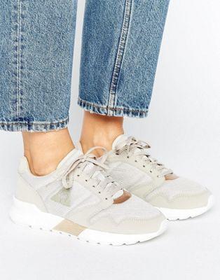 Le Coq Sportif Beige Omega Sneakers