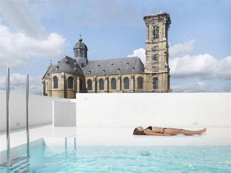 Swimming pool, Grimbergen, Naast de Vergaelen !