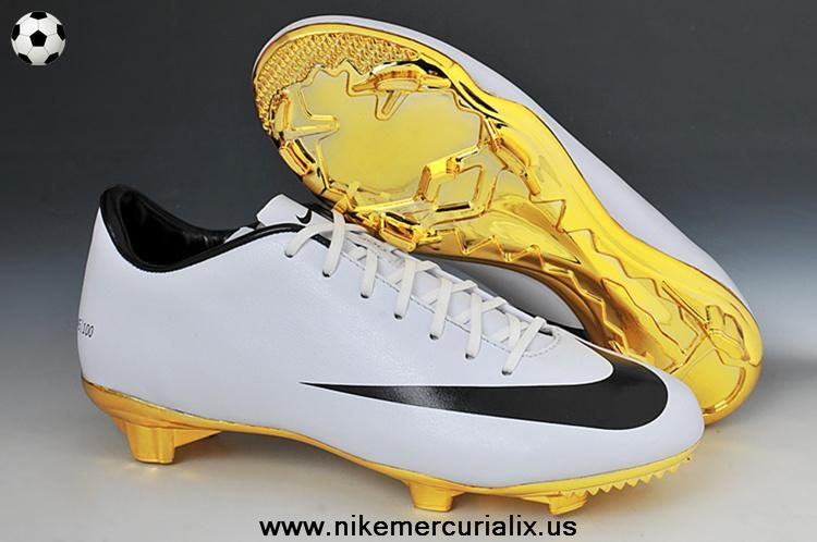 WhiteGold) Nike Mercurial CR7 2014