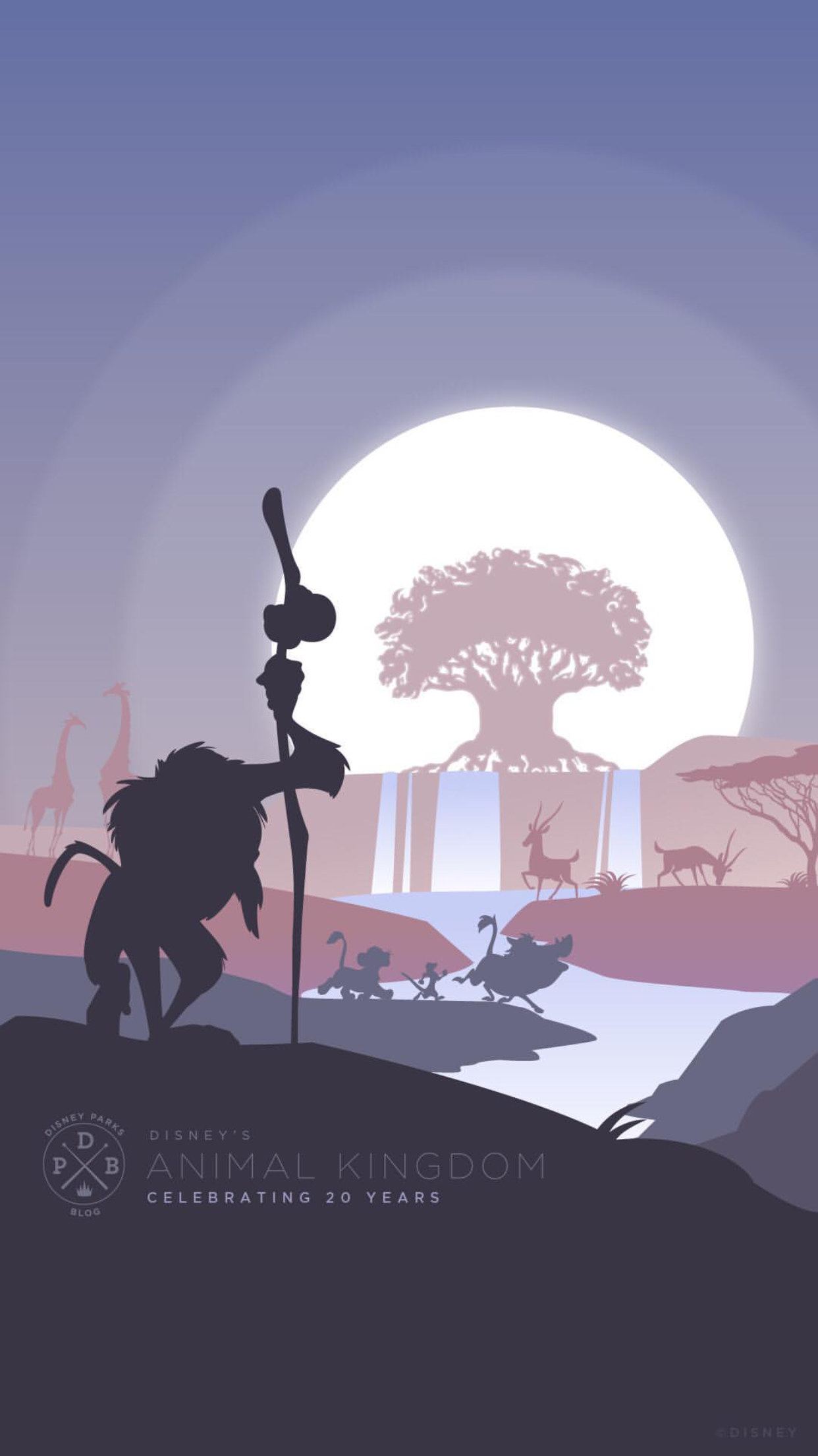 Animal Kingdom Earth Day Rafiki Background Lock Screen Wallpaper Cellphone Iphone Android Animal Kingdom Disney Disney Parks Blog Wallpaper