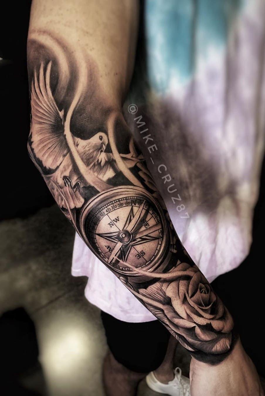 Tatuagens No Antebraco 80 Desenhos Masculinos Incriveis Eu Amo Tatuagens Tattoos For Women Half Sleeve Tattoos Best Sleeve Tattoos